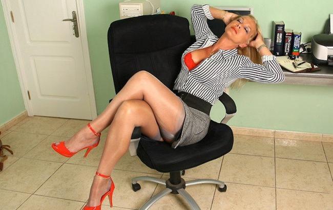 Sexy Mature Secretary