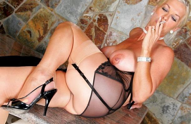 exposing her body